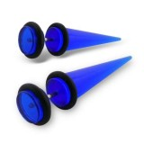 Deep blue - Acrylic Ear Tun...