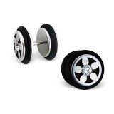 Dumbbell - 316L Surgical Grade Stainless Steel Ear Tunnels & Plugs SD3568