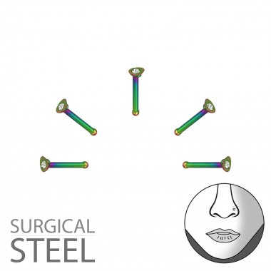 Pack Of 5 Rainbow Surgical ...