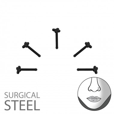 Pack Of 5 Black Surgical St...