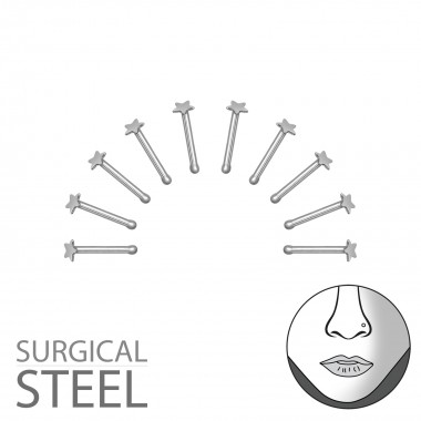 Pack Of 10 High Polish Surg...