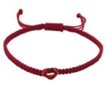 Lips - Nylon Cord Kids Bracelets SD17090
