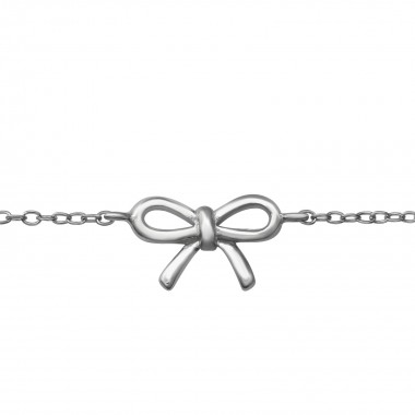 Bow - 925 Sterling Silver K...