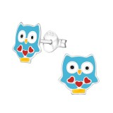 Olw - 925 Sterling Silver Kids Ear Studs SD39014