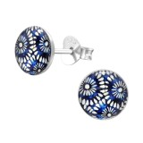 Boho - 925 Sterling Silver Kids Ear Studs SD41125