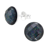 Round - 925 Sterling Silver Kids Ear Studs SD42278