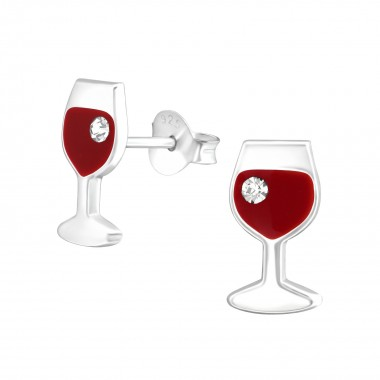 Wine Glass - 925 Sterling S...