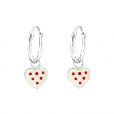 Hanging Heart - 925 Sterlin...