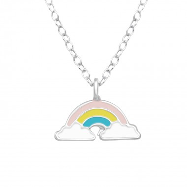 Rainbow - 925 Sterling Silver Kids Necklaces SD39447