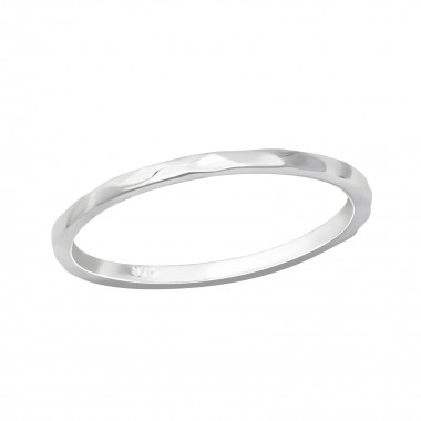 Hammered - 925 Sterling Sil...