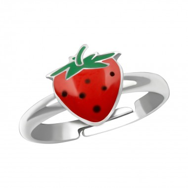 Strawberry - 925 Sterling Silver Kids Rings SD38609