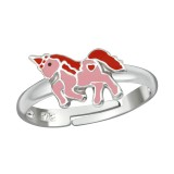 Unicorn - 925 Sterling Silver Kids Rings SD38689