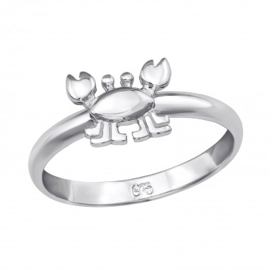 Crab - 925 Sterling Silver Kids Rings SD39831