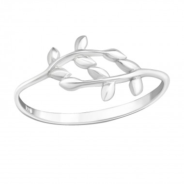 Olive Branch - 925 Sterling Silver Kids Rings SD40272