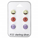 Emoji - 925 Sterling Silver Kids Jewelry Sets SD28467