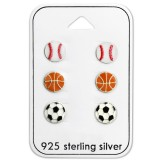 Ball - 925 Sterling Silver Kids Jewelry Sets SD28471