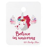 Unicorn - 925 Sterling Silver Kids Jewelry Sets SD38074