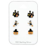 Halloween - 925 Sterling Silver Kids Jewelry Sets SD38716