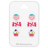 Dessert - 925 Sterling Silver Kids Jewelry Sets SD38718