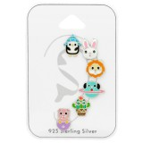 Mixed - 925 Sterling Silver Kids Jewelry Sets SD38737