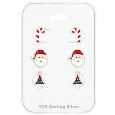 Christmas - 925 Sterling Silver Kids Jewelry Sets SD39707