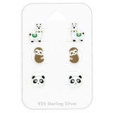 Animal - 925 Sterling Silver Kids Jewelry Sets SD41479