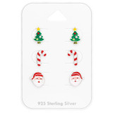 Christmas - 925 Sterling Silver Kids Jewelry Sets SD41480
