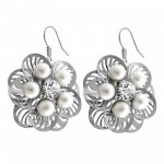 Flower - Alloy Earrings & Studs SD14299