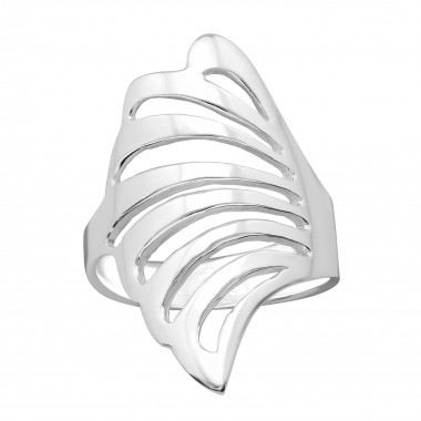 Wing - 925 Sterling Silver Silver Heavy SD39922