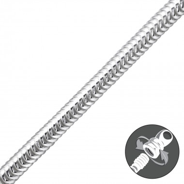 Thick - 925 Sterling Silver...