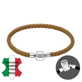 Plain - Leather Cord Bracelet for Beads SD31163