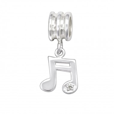 Music Note - 925 Sterling S...