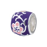 Flower - 925 Sterling Silver Simple Beads SD19552