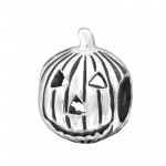 Pumpkin - 925 Sterling Silver Simple Beads SD2848