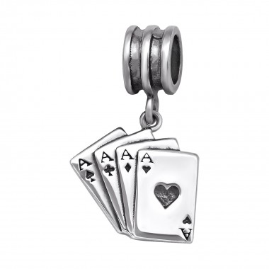 Playing Card - 925 Sterling...