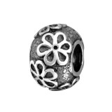 Flower - 925 Sterling Silver Simple Beads SD35081