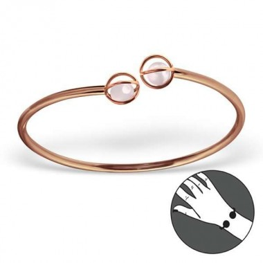 Globe Cage - 925 Sterling S...