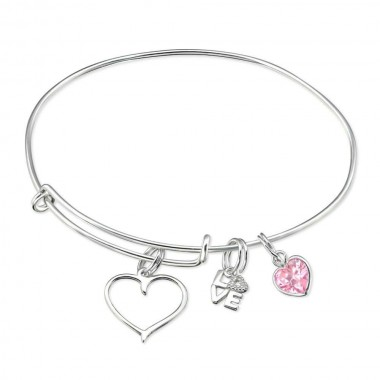 Hanging Love Charms - 925 S...