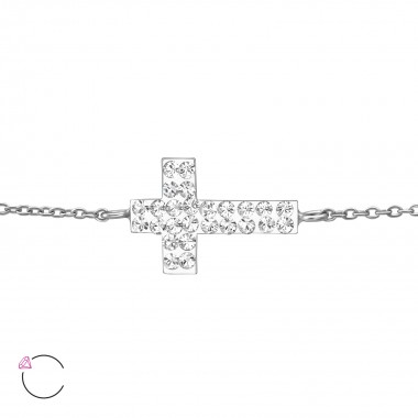 Cross - 925 Sterling Silver Bracelets SD36314