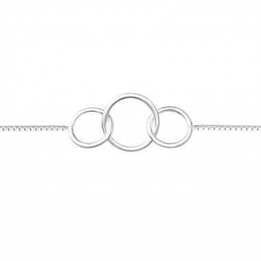 Circle Link - 925 Sterling ...