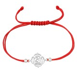 Flower - Nylon Cord Corded Bracelets SD38998
