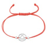 Libra Zodiac Sign - Nylon Cord Corded Bracelets SD39000