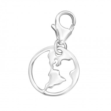 Earth - 925 Sterling Silver...