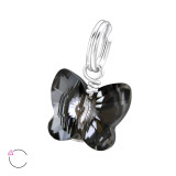 Butterfly - 925 Sterling Silver Splitring Charms SD28996