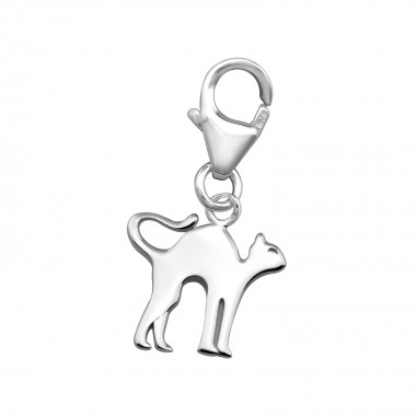 Cat - 925 Sterling Silver C...