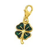Lucky - 925 Sterling Silver Clasp Charms SD42062