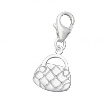 Bag - 925 Sterling Silver Clasp Charms SD885