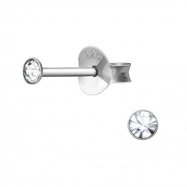 3mm Round - 925 Sterling Si...
