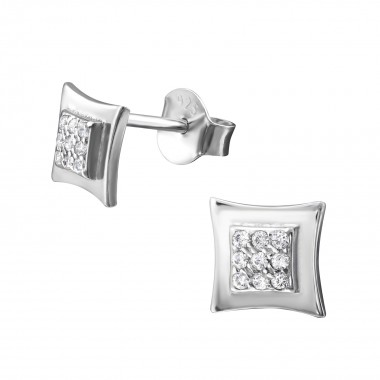Square - 925 Sterling Silve...