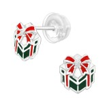 Gifts - 925 Sterling Silver Stud Earrings with CZ SD40385